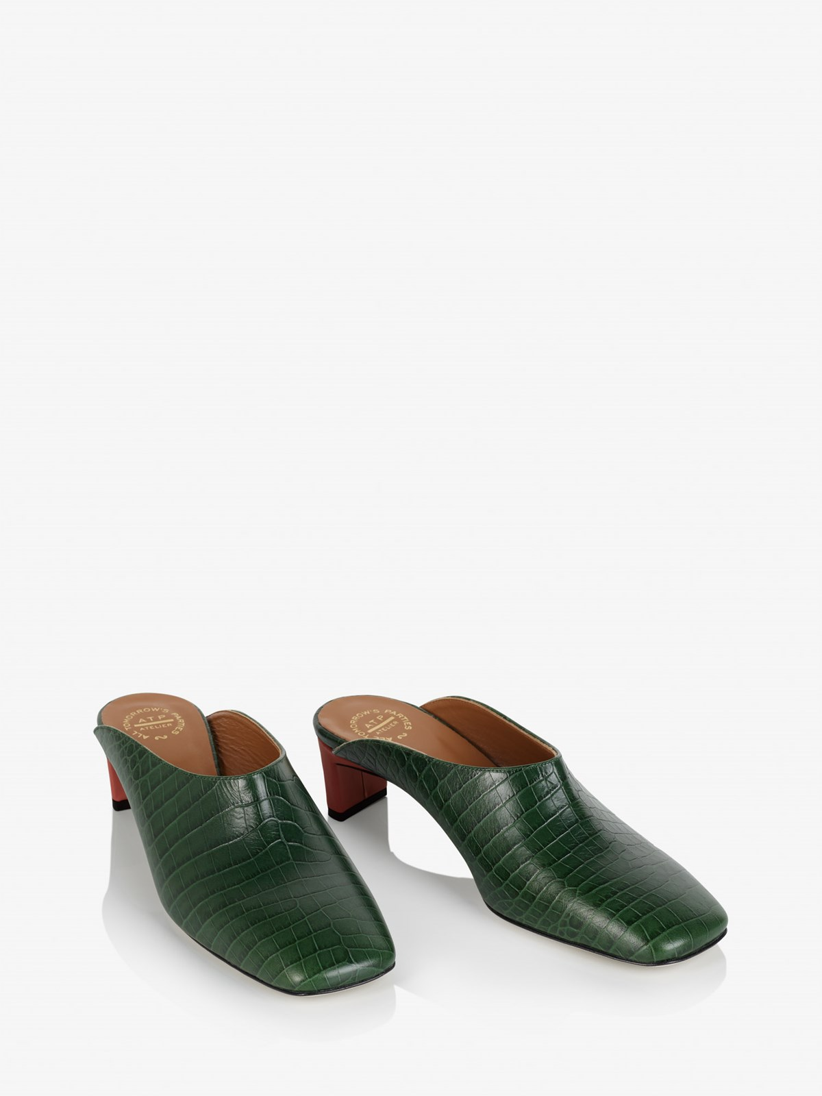 Printed Croco Tasso Forrest Green Printed Croco