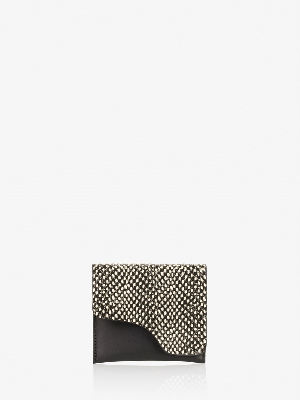 Olba Black White Dot Wallet
