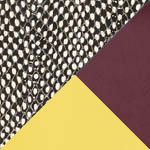 Black White Dot/Brunello/Canary Yellow Printed Snake/Vacchetta
