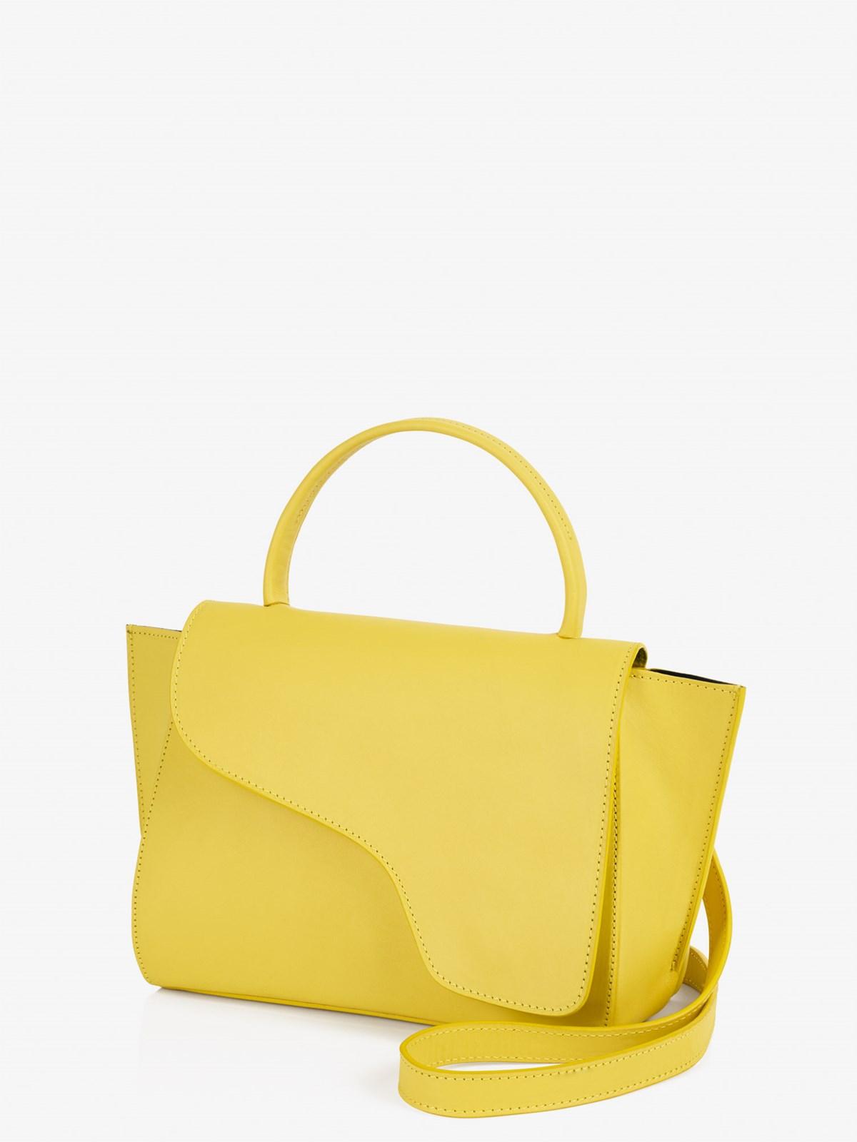 Arezzo Canary Yellow Handbag