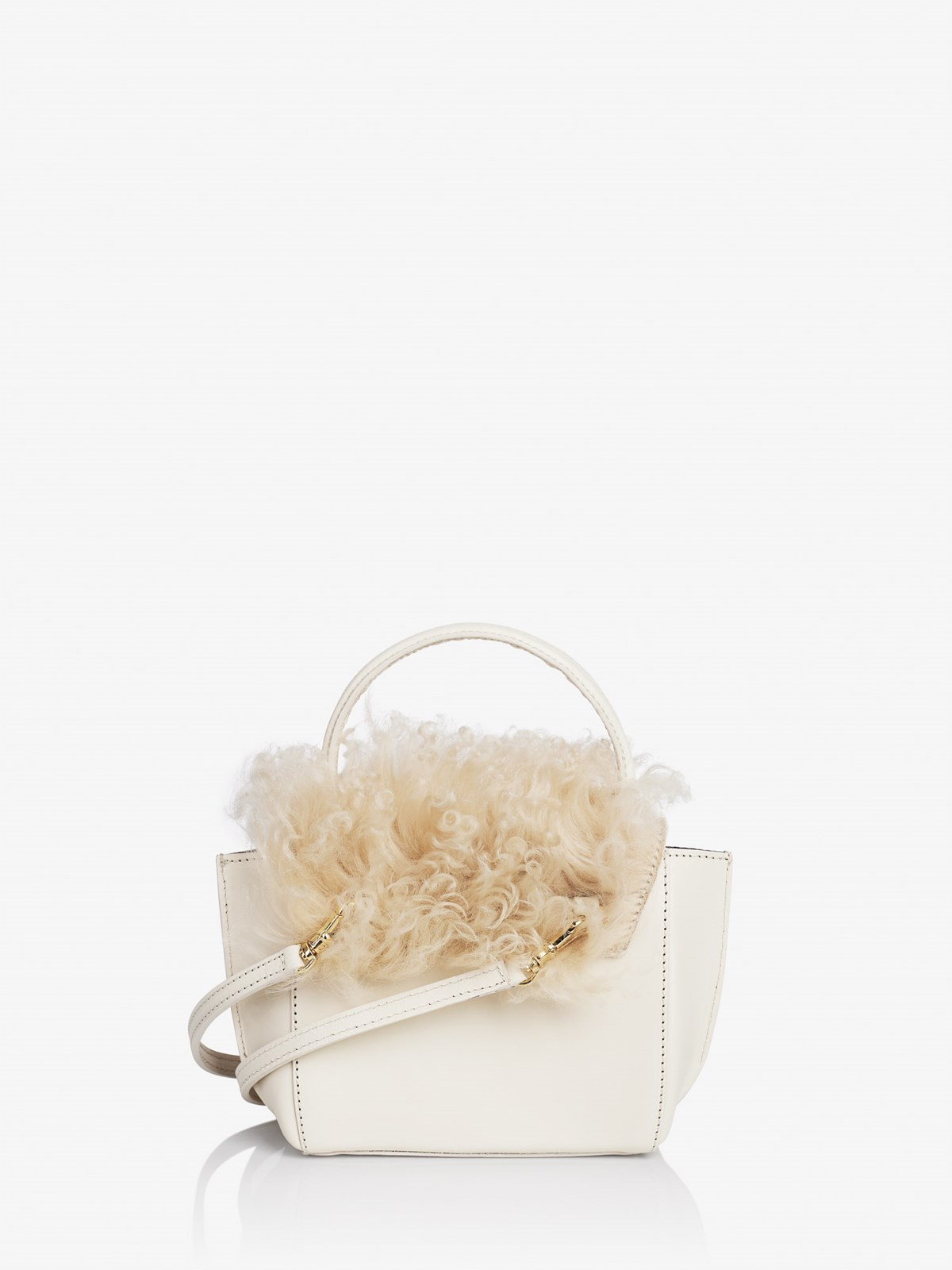 Montalcino Ice White Mini handbag