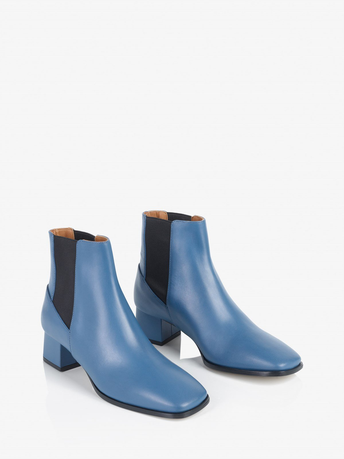 Cicoria Sky Blue Ankle boots