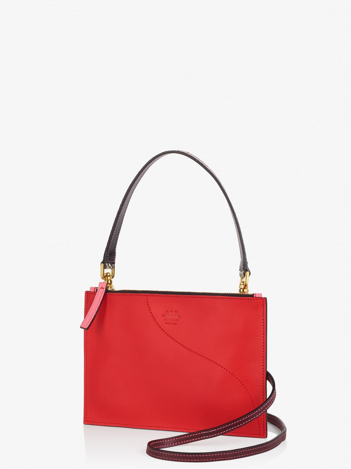 Lucca Tomato Red Crossbody bag