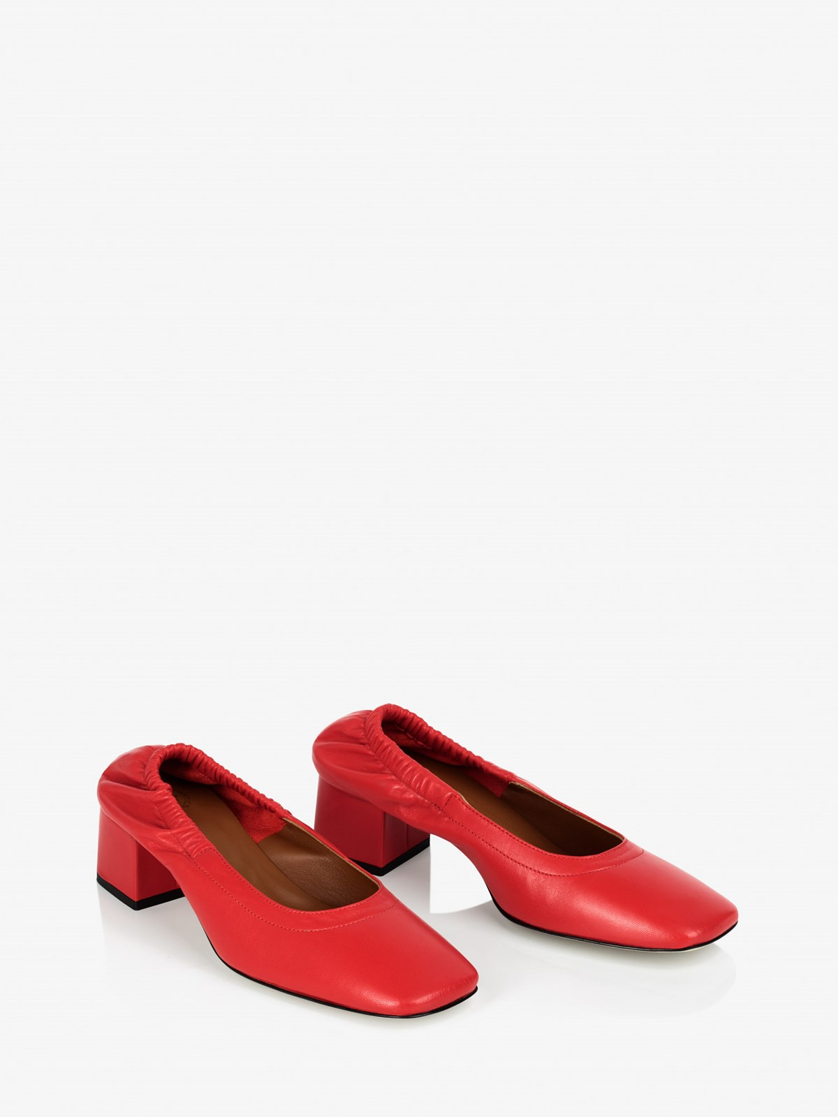 Fiore Tomato Red Pumps