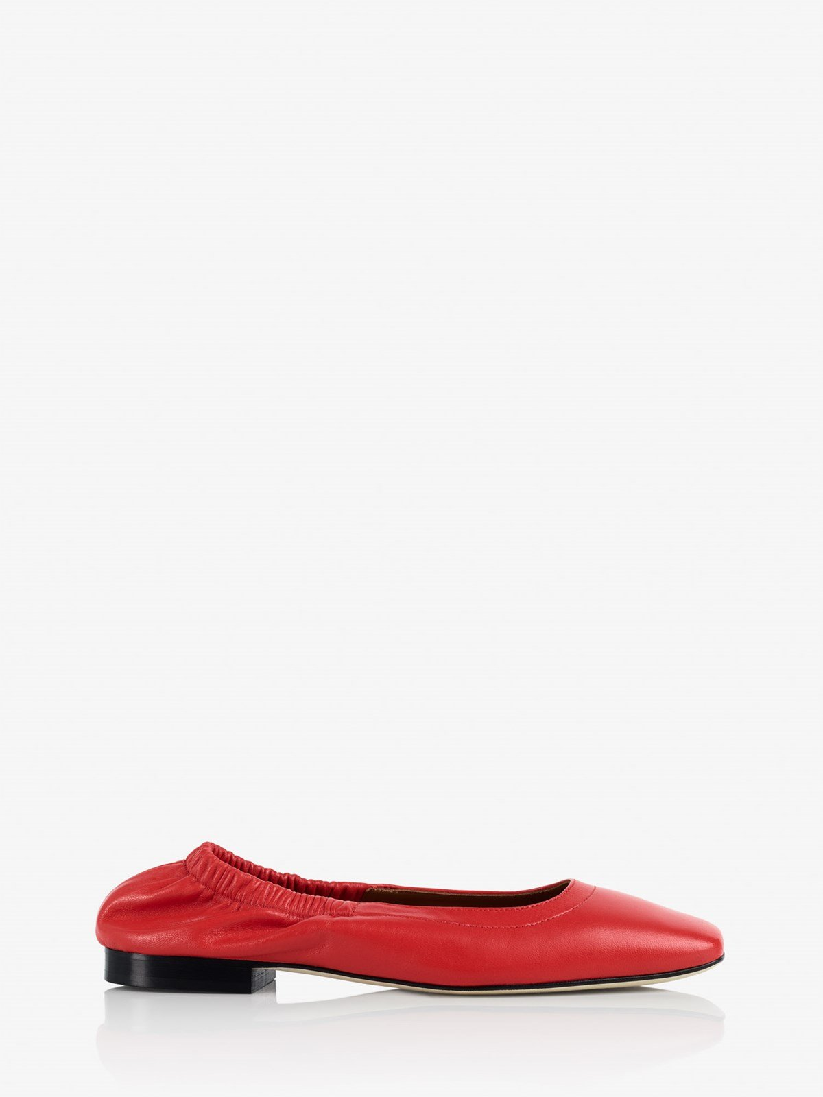 Neve Tomato Red Ballerinas
