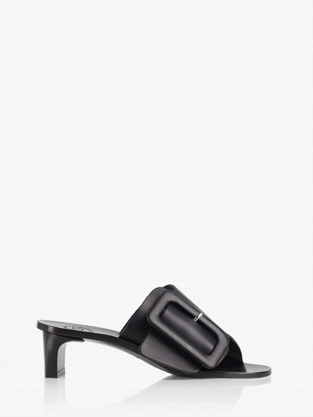 Cacao Black Heeled sandals