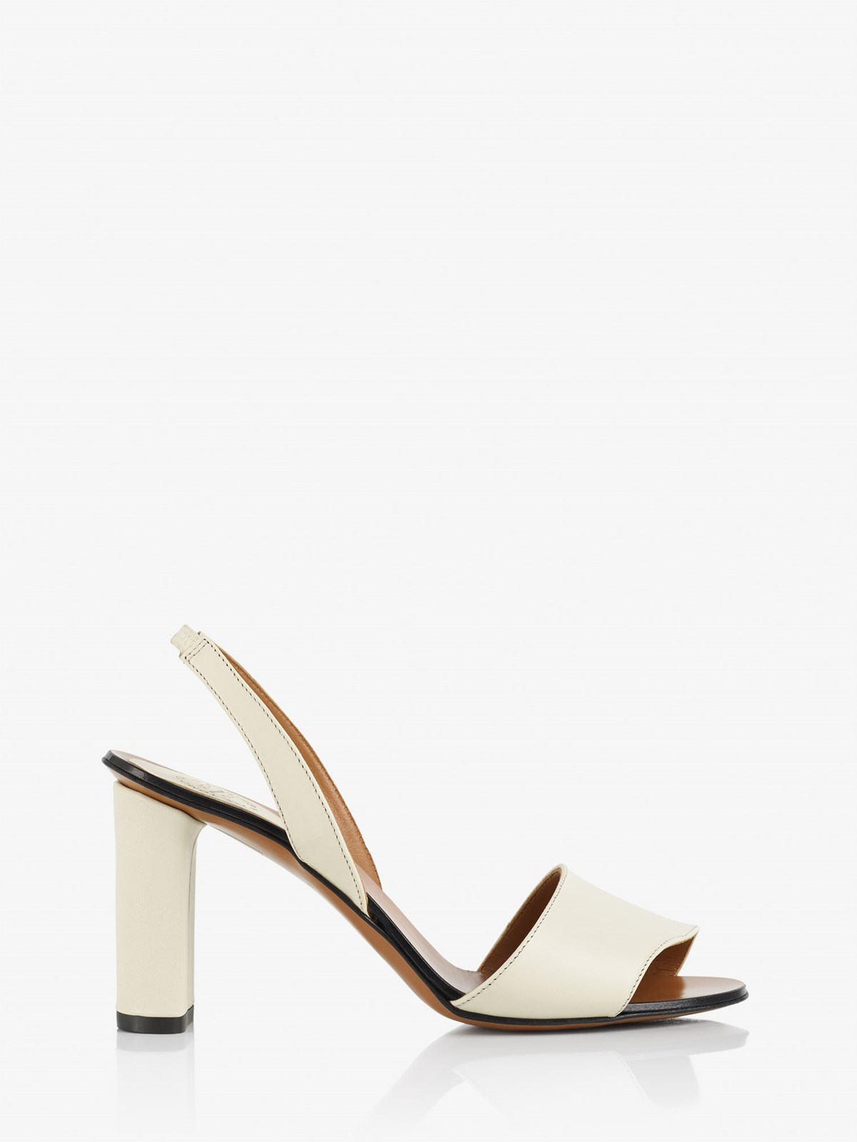 Soia Ice White Heeled sandals