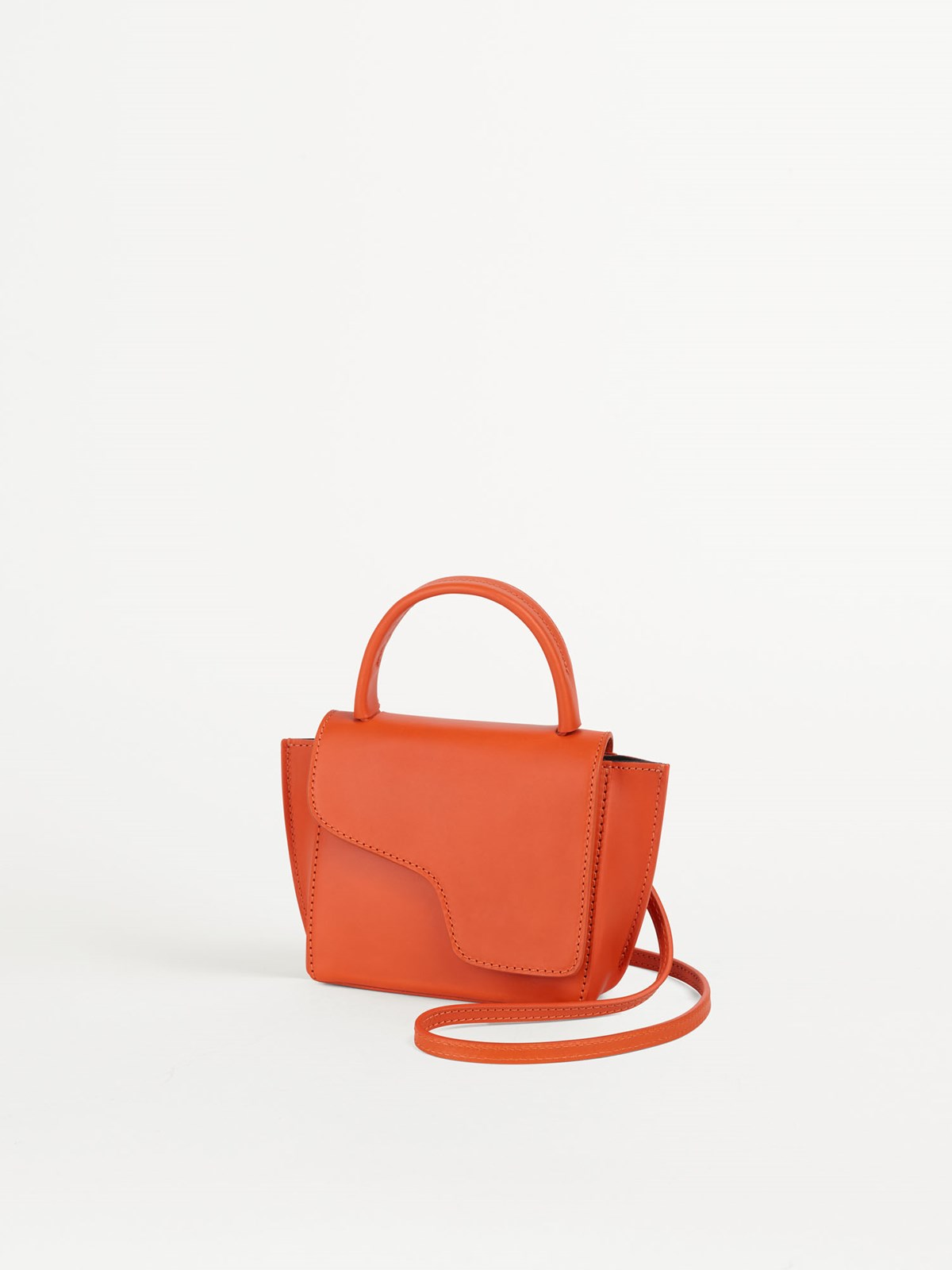 Montalcino Orange Mini handbag