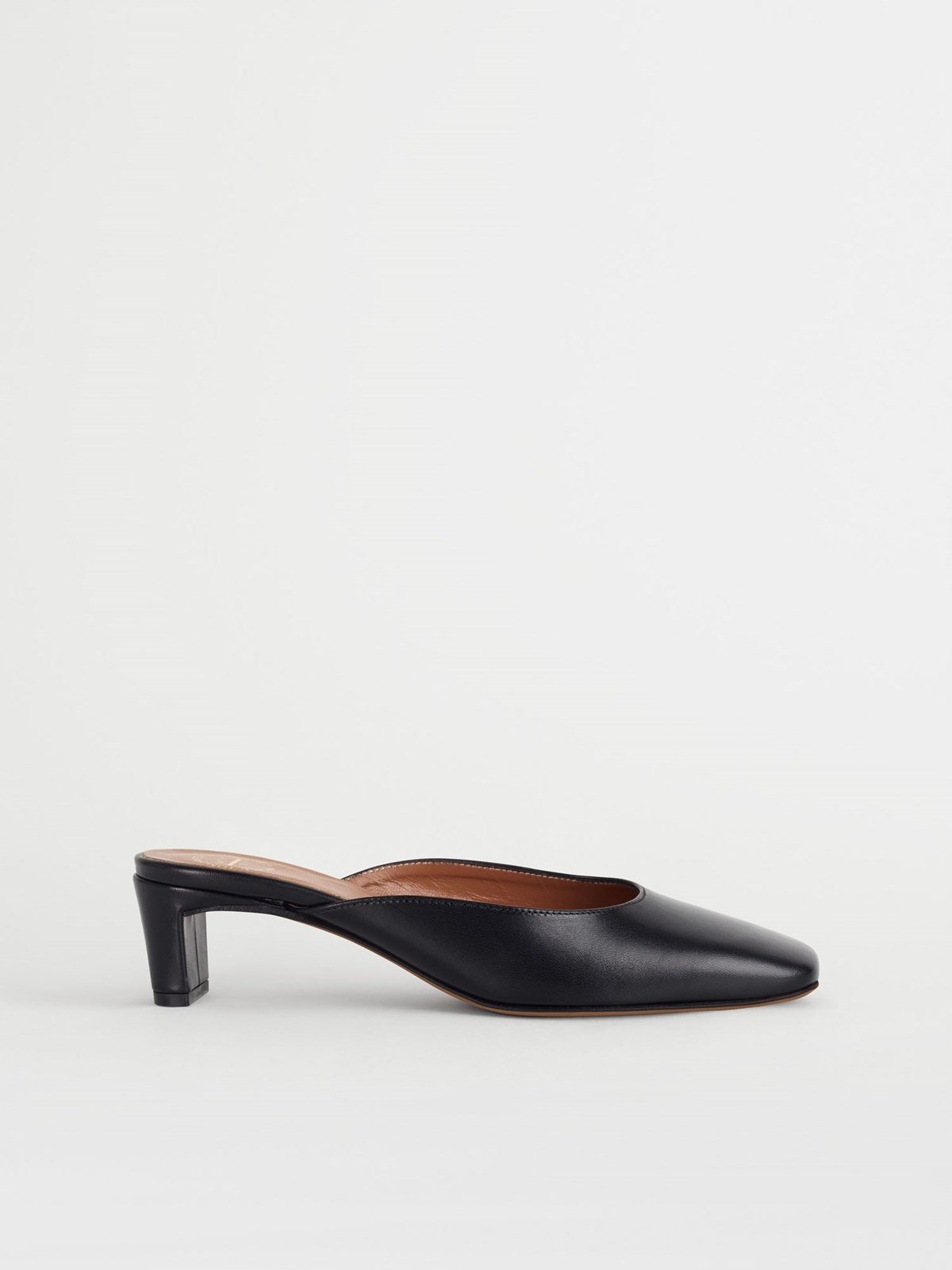 Alloro Black Mules