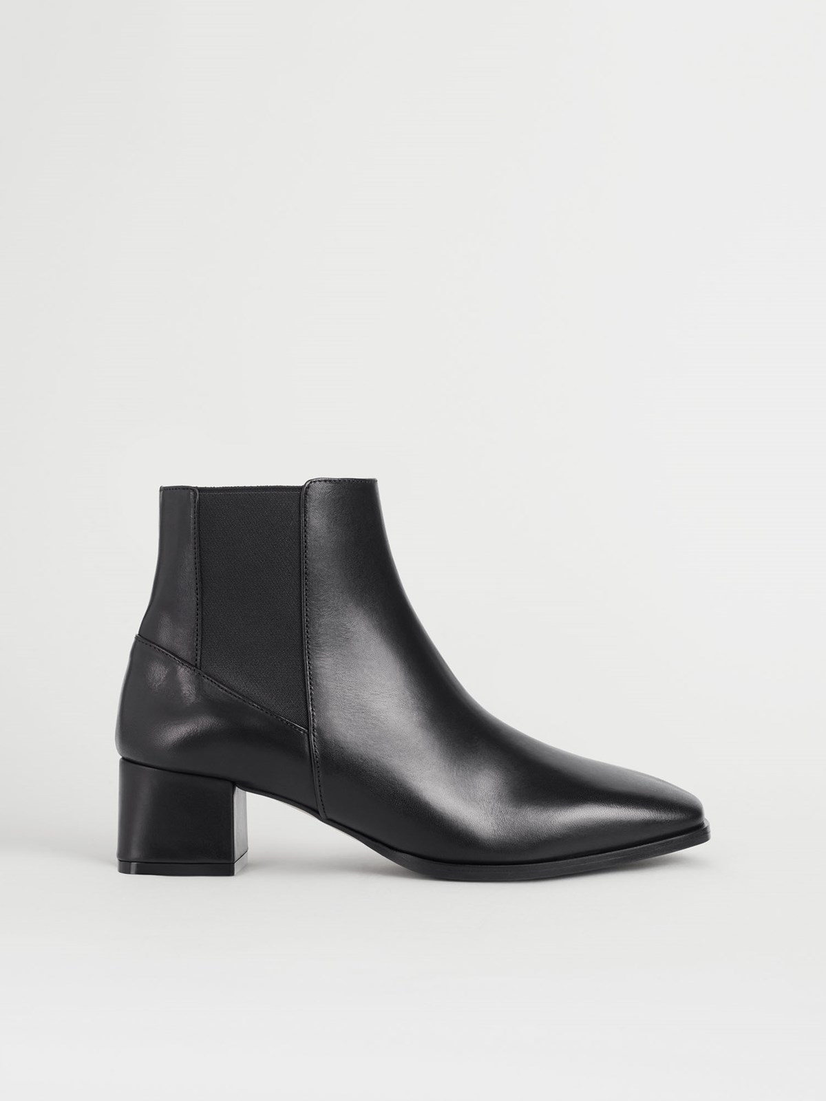 Cicoria Black Ankle boots