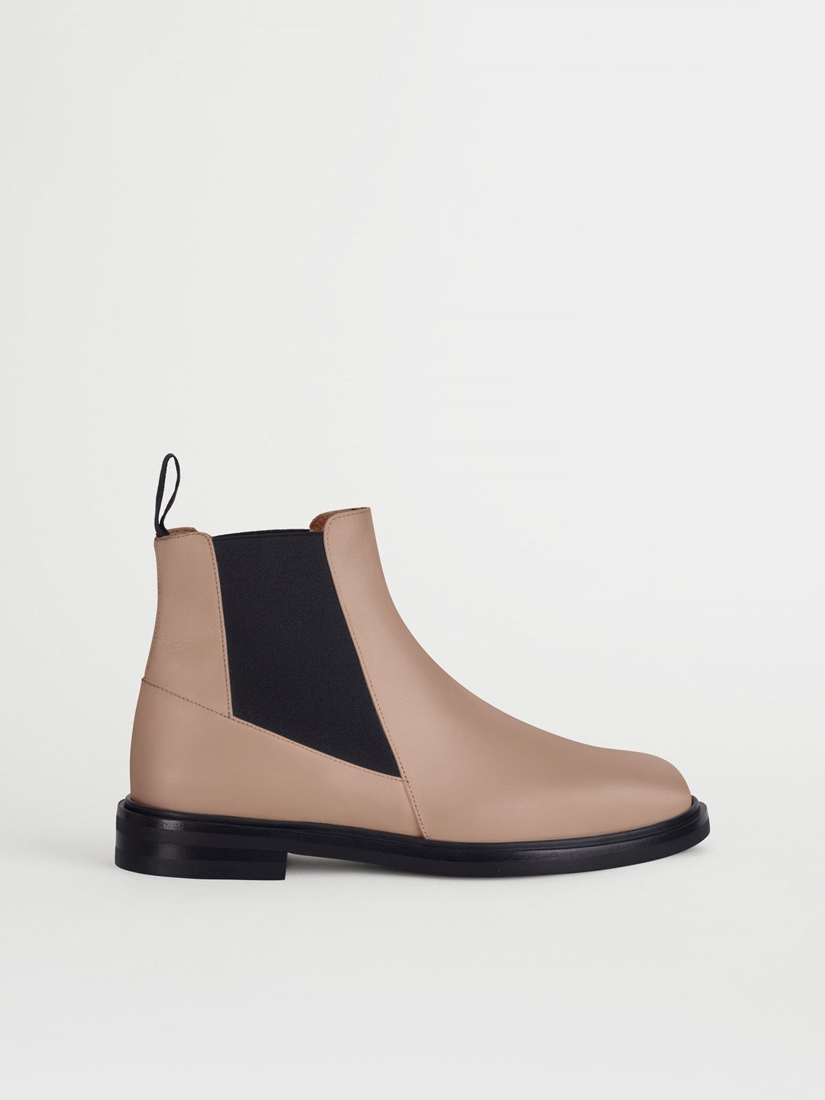 Clivia Almond Chelsea boots