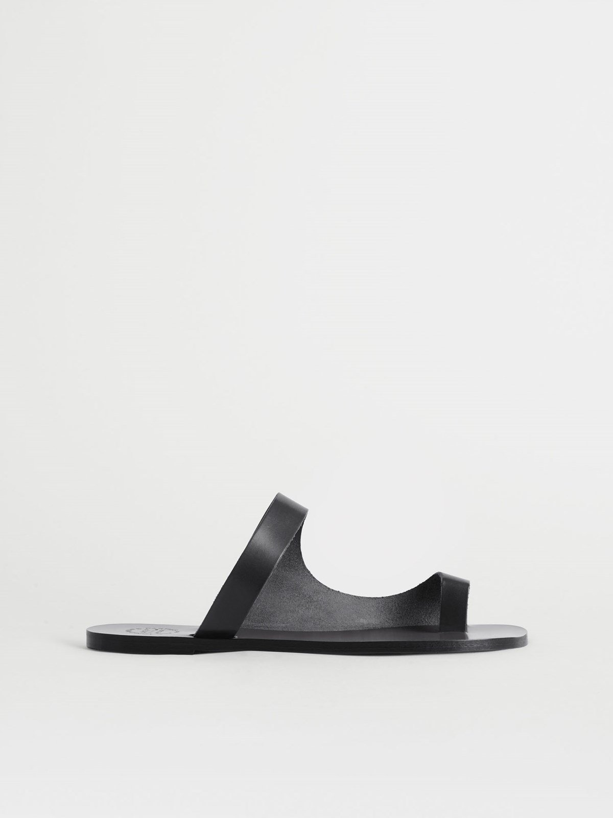 Dina Black Cutout sandals