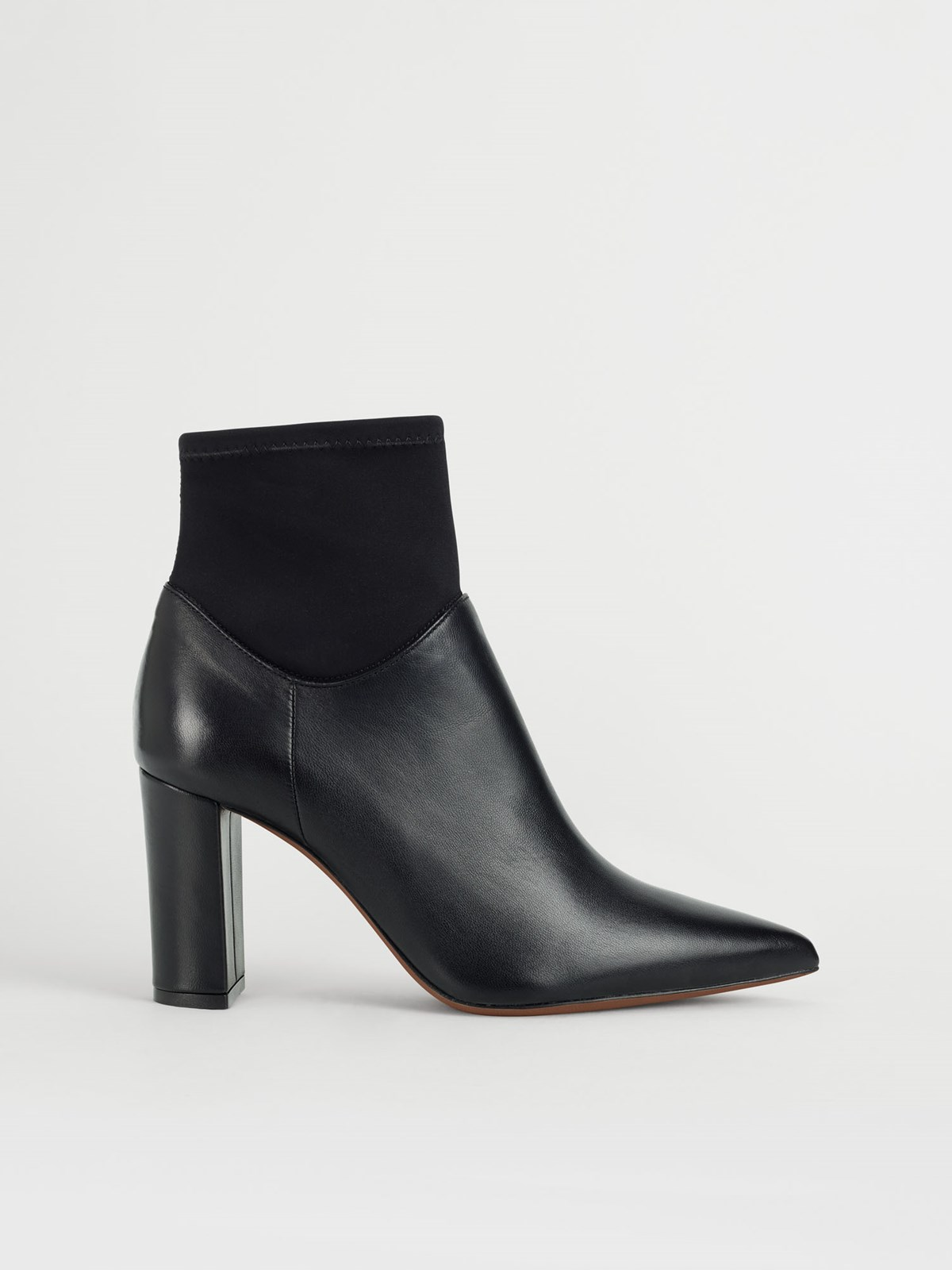 Enna Black Ankle Boots