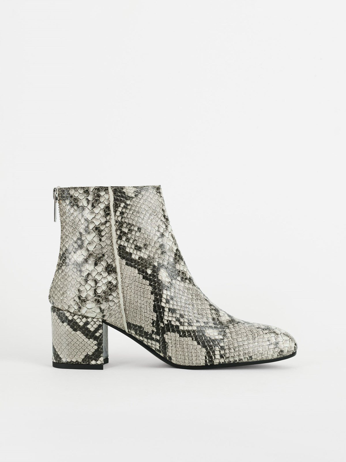 Mei Grey Ankle boots