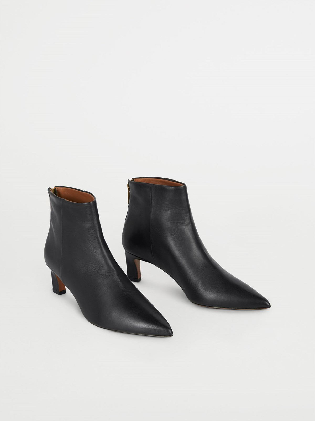 Messina Black Ankle Boots