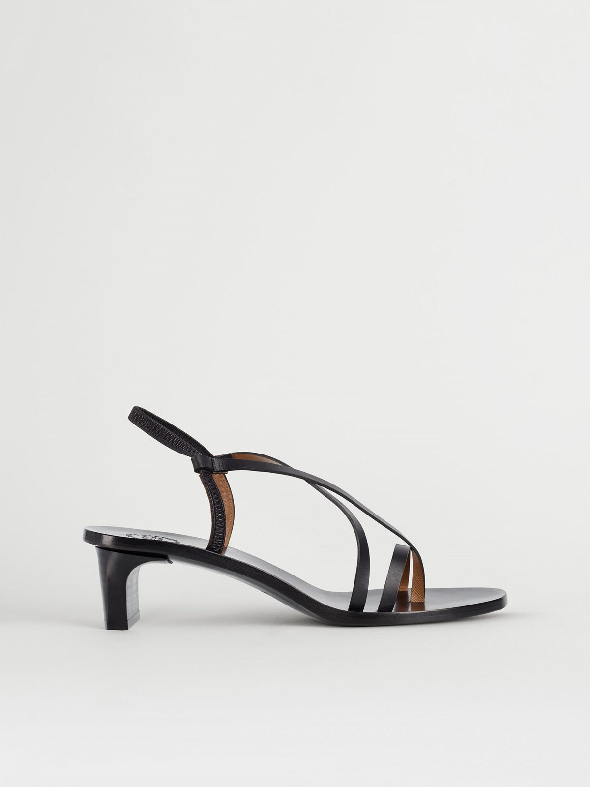 Nashi Black Heeled sandals
