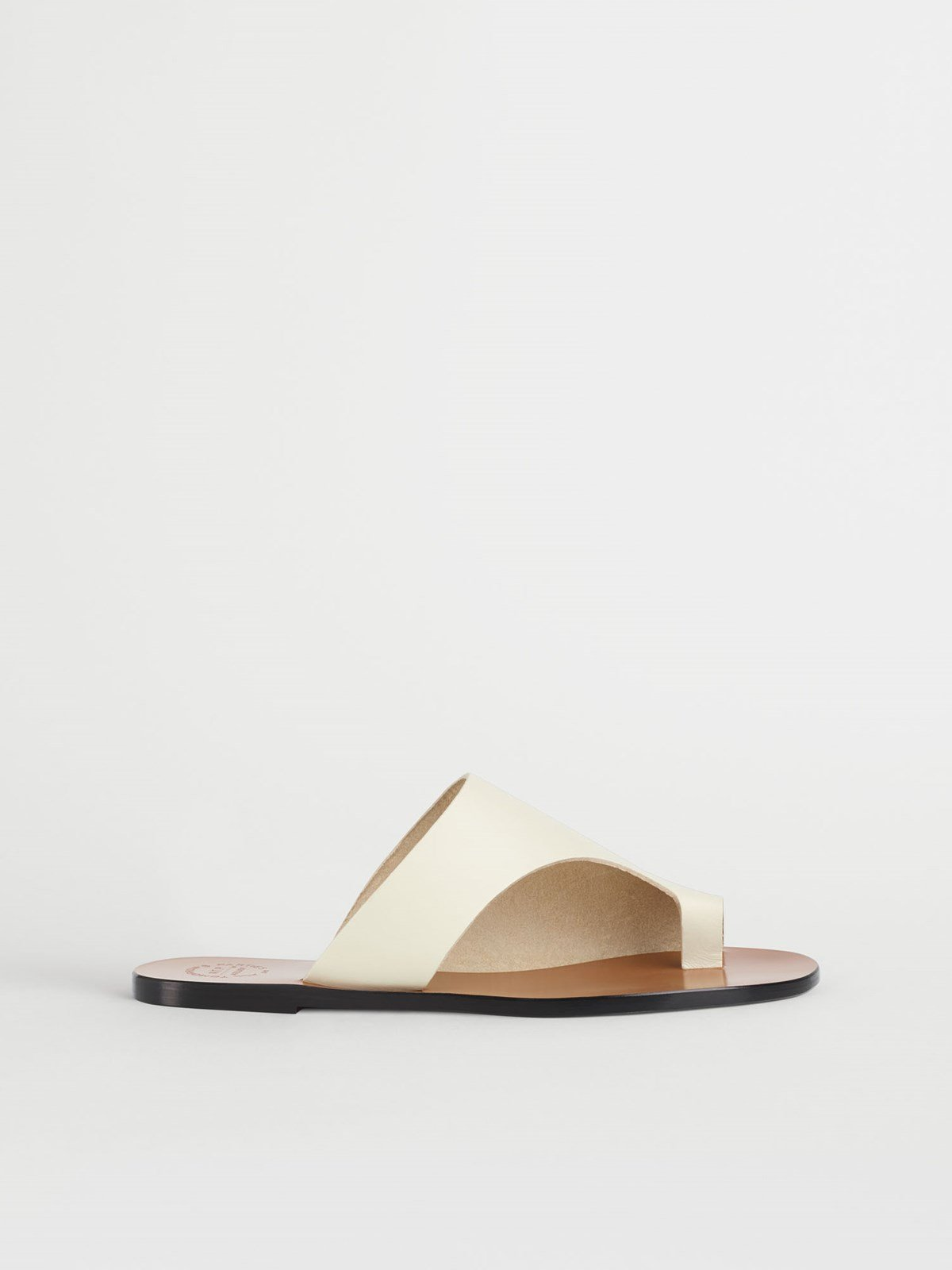 Rosa Ice White Cutout sandals
