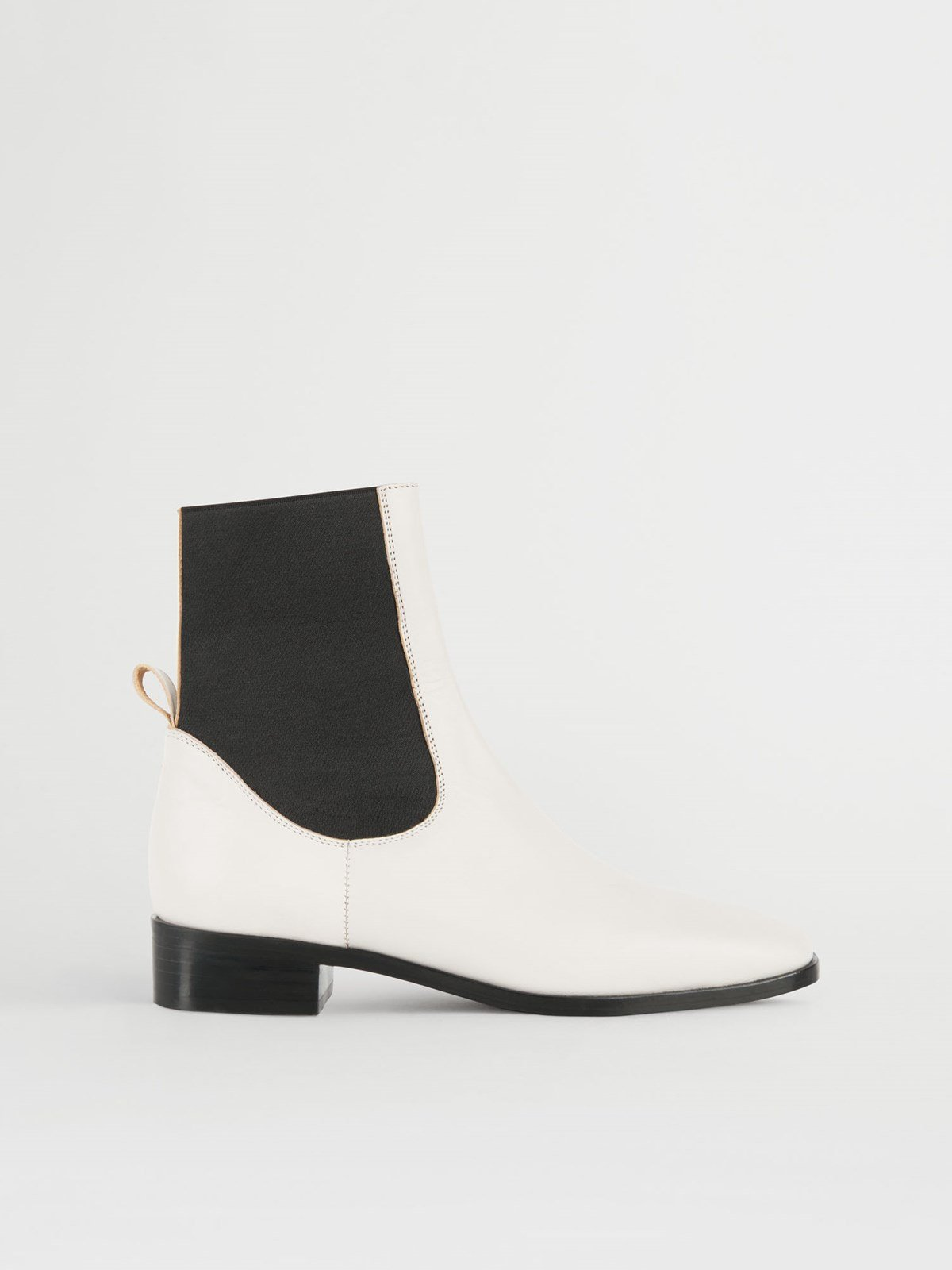 Vernazza Ice White Ankle Boots
