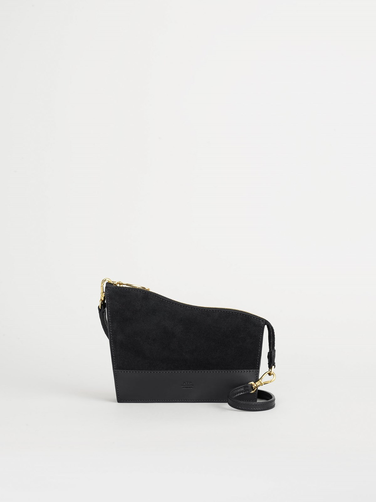 Diso Black Baguette Bag