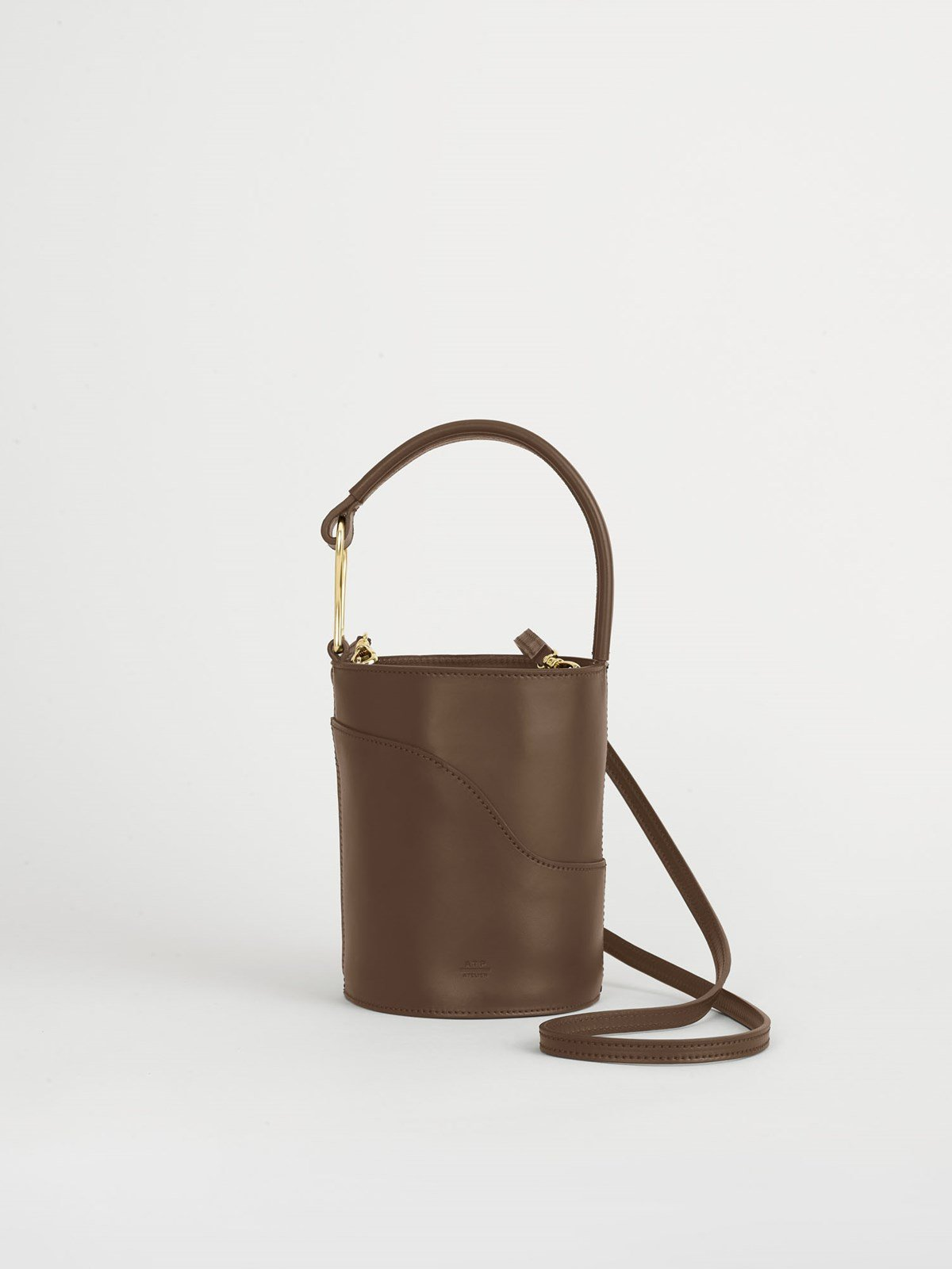Sava Khaki brown Small bucket bag