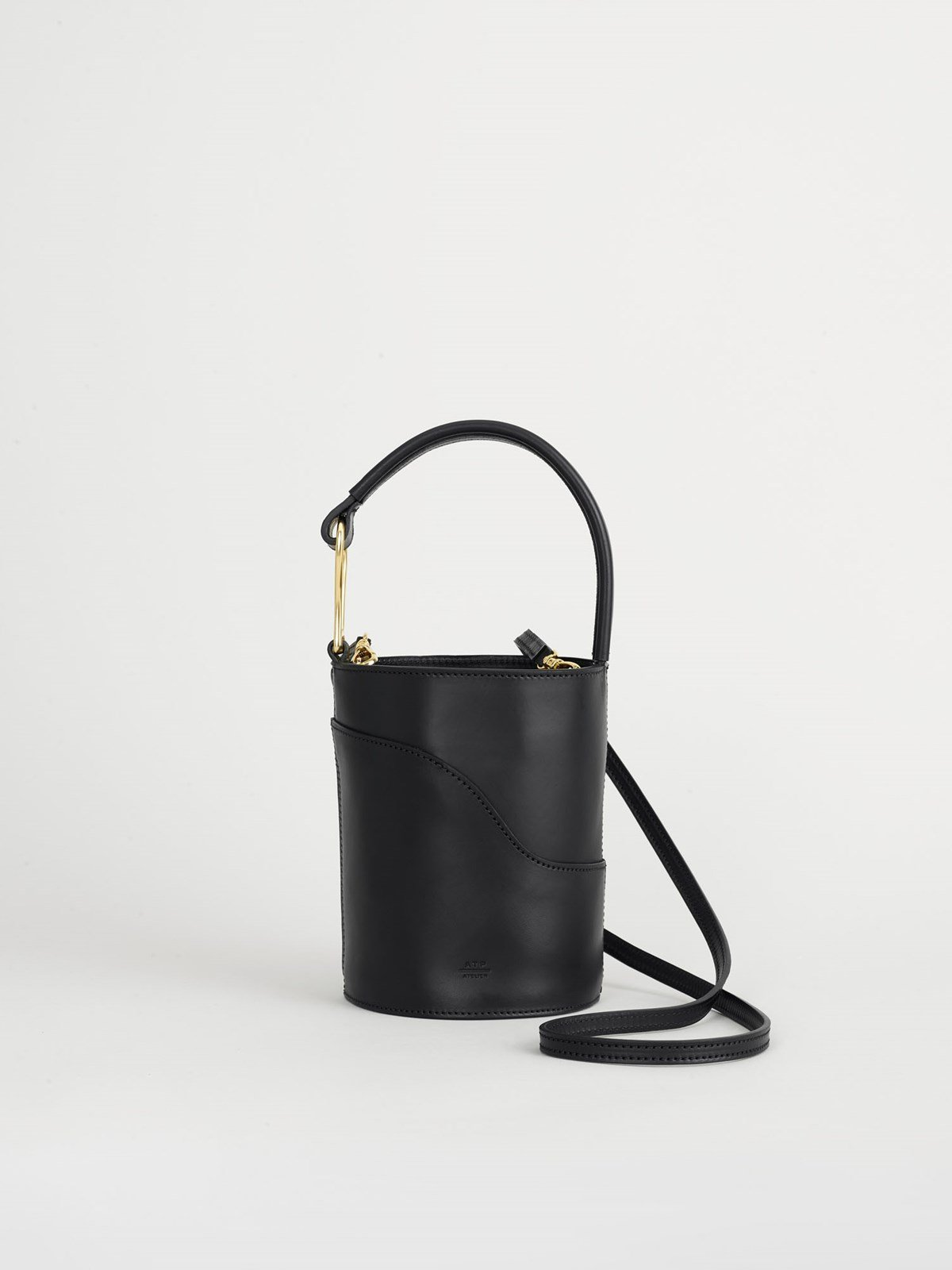 Sava Black Small bucket bag