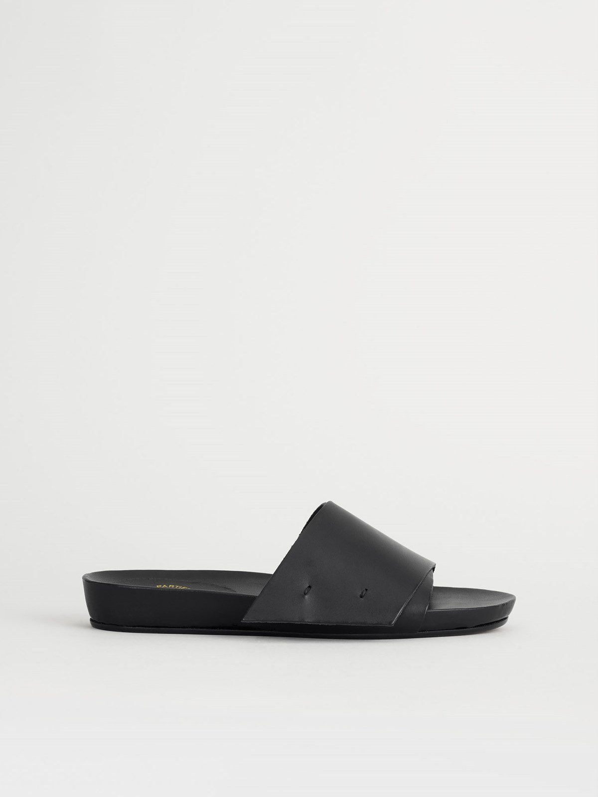 Manfio Black Everyday sandals
