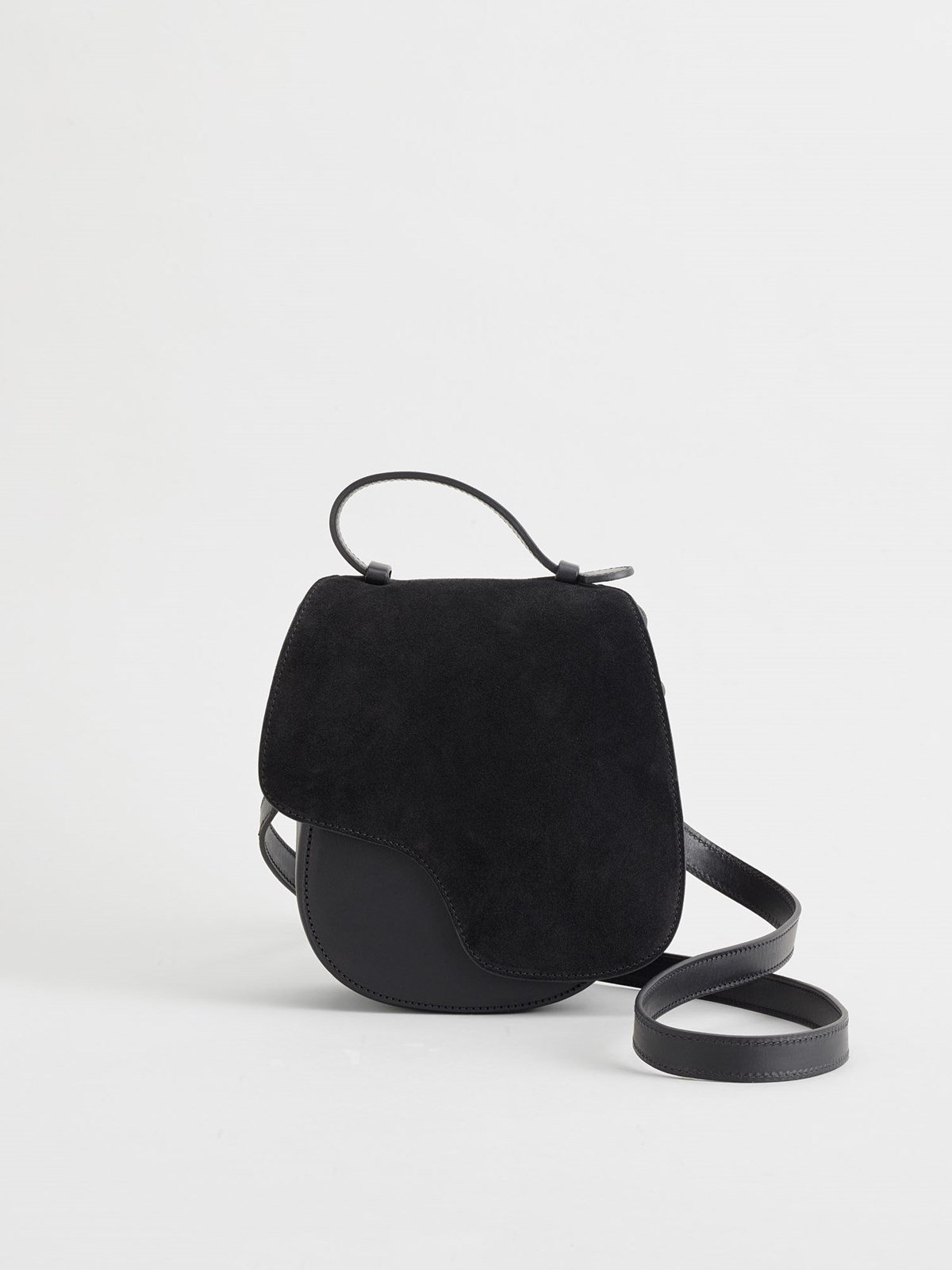 Carrara Black Crossbody bag