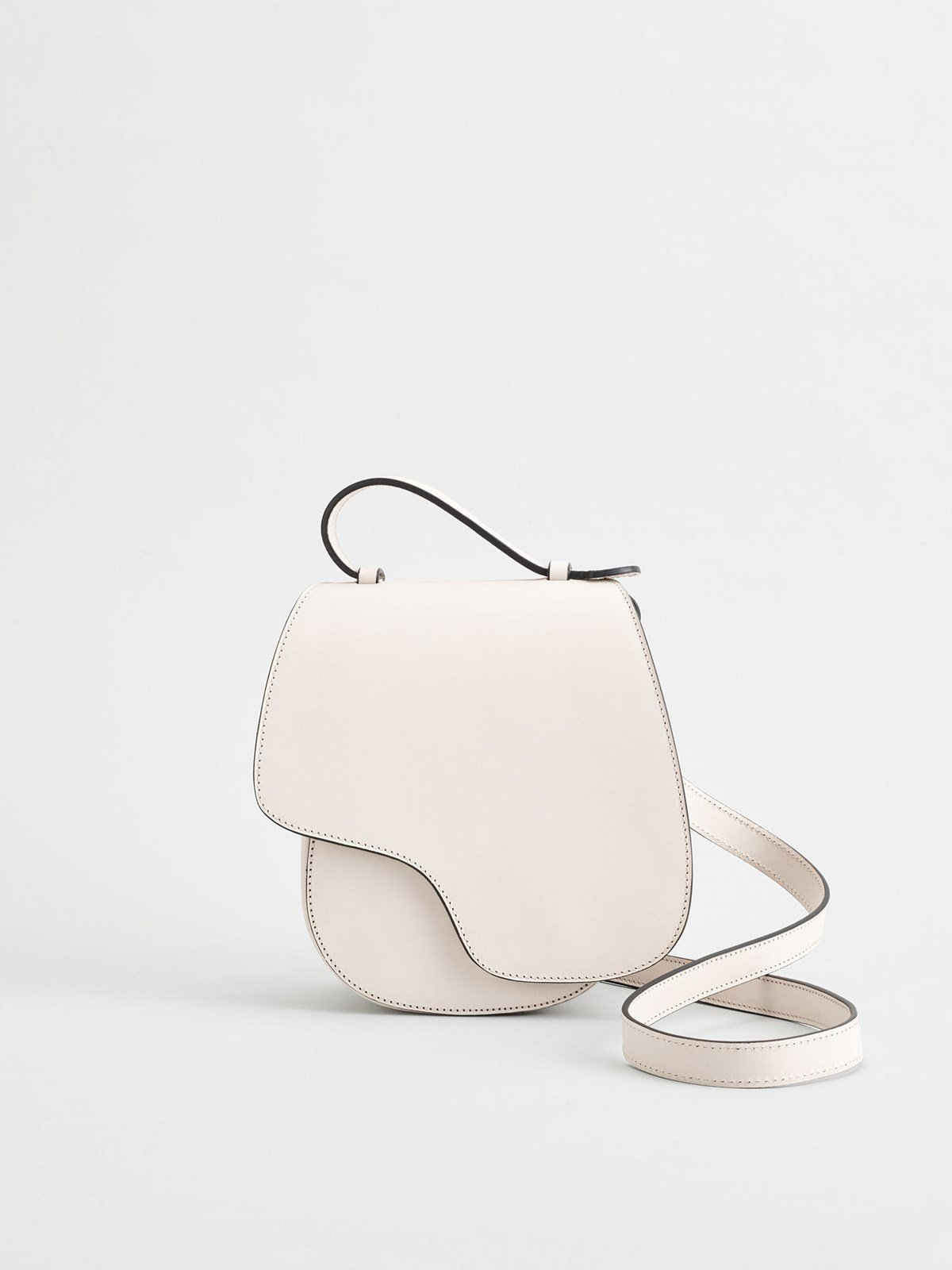 Carrara Ice White Crossbody bag