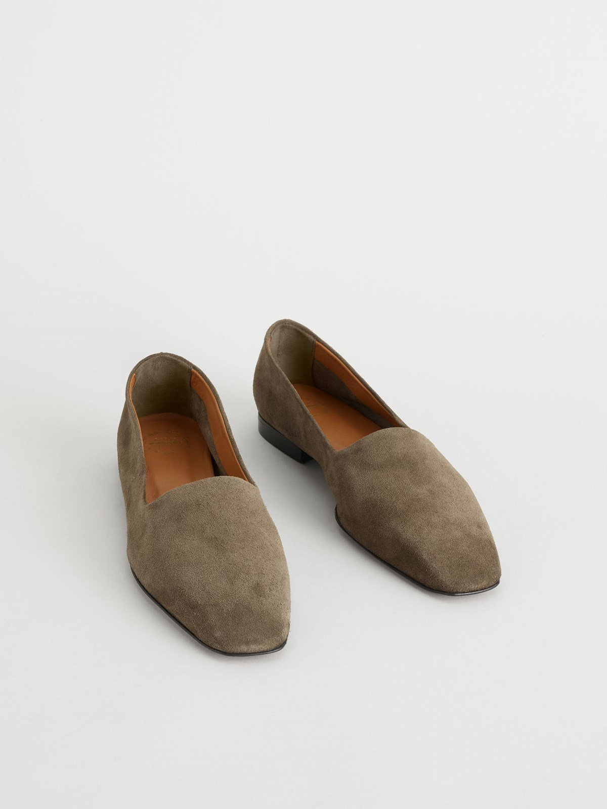 Andrano Khaki Brown Loafers