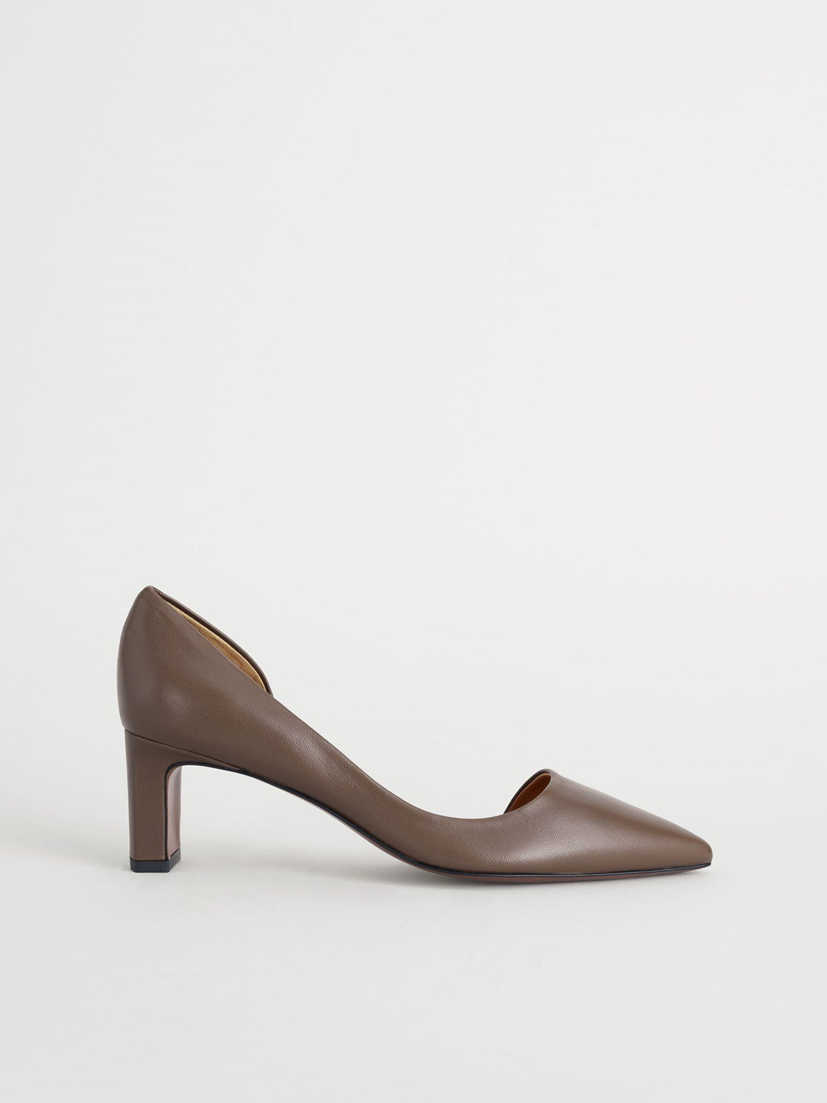Carmiano Khaki Brown Pumps