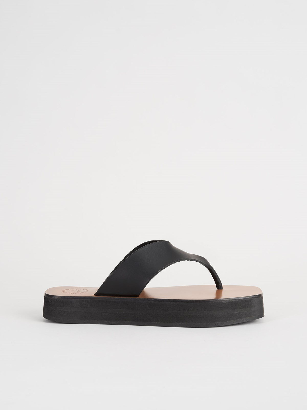 Melitto Black Platform sandals