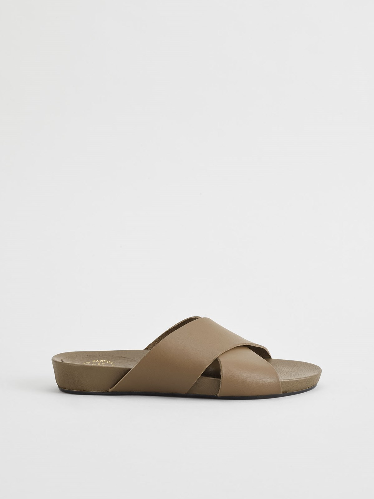 Doris Khaki Brown Everyday Sandals
