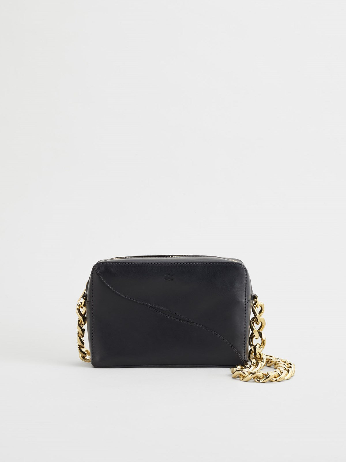 Ginosa Black Shoulder Bag