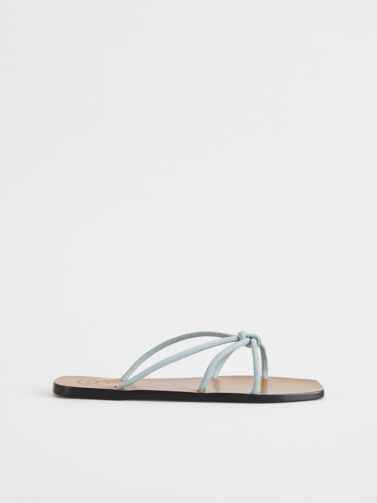Panni Light Blue Flat sandals
