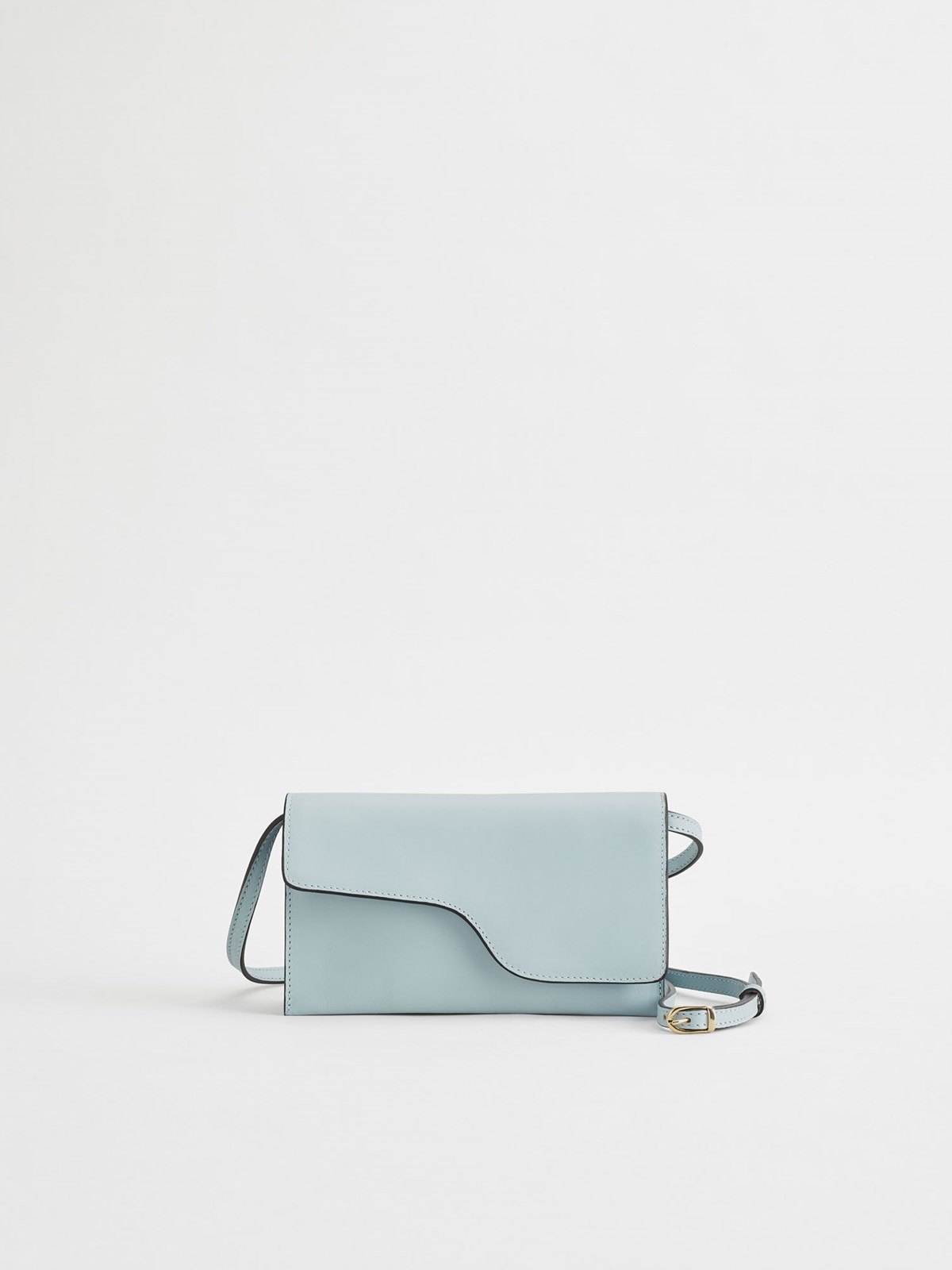 Ulignano Light Blue Baguette bag