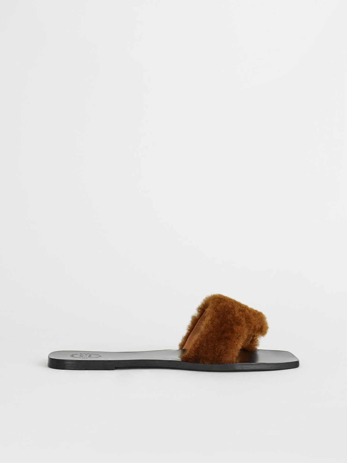 Cursi Brown Flat sandals