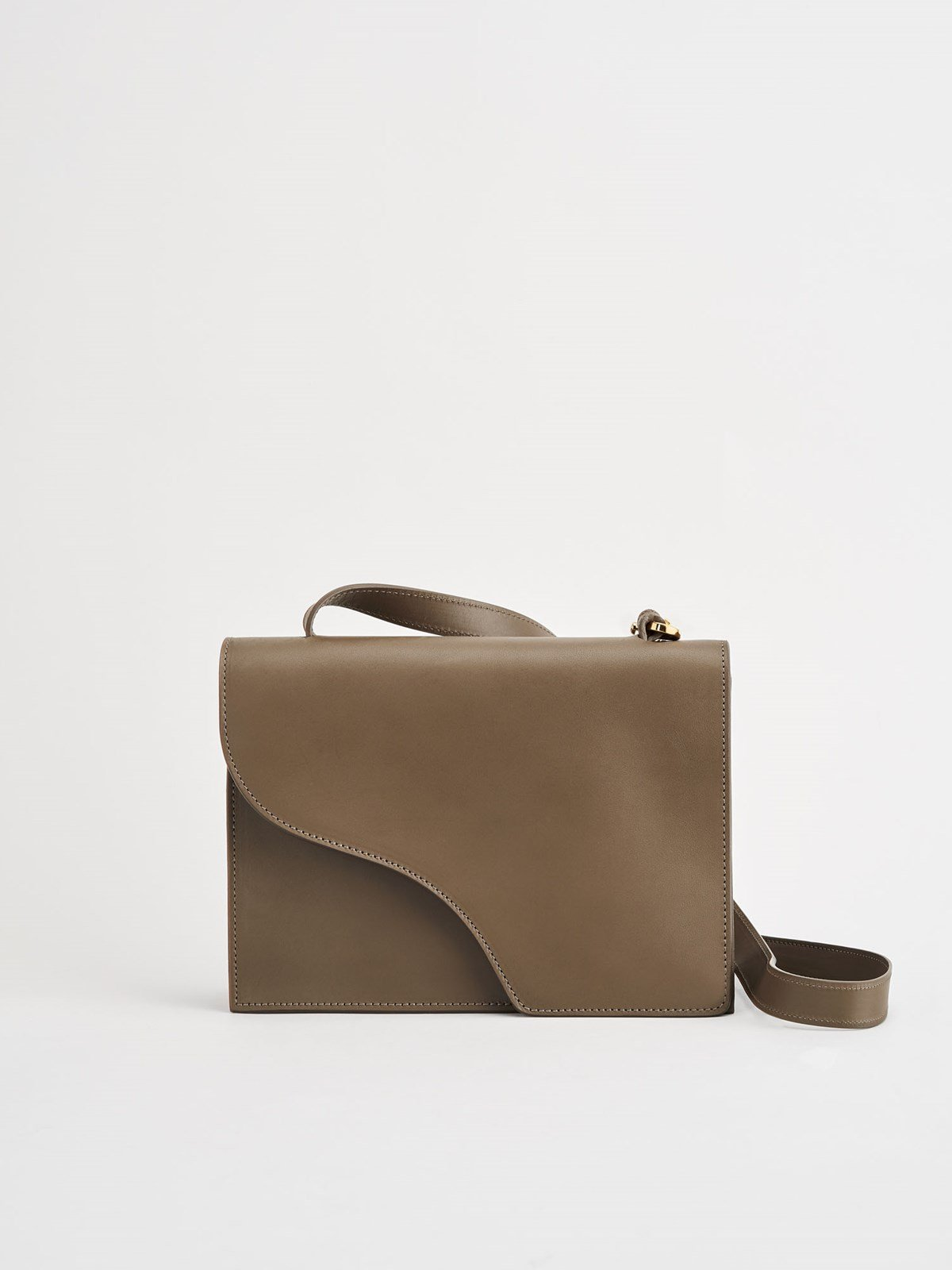 Siena Khaki Brown Crossbody bag