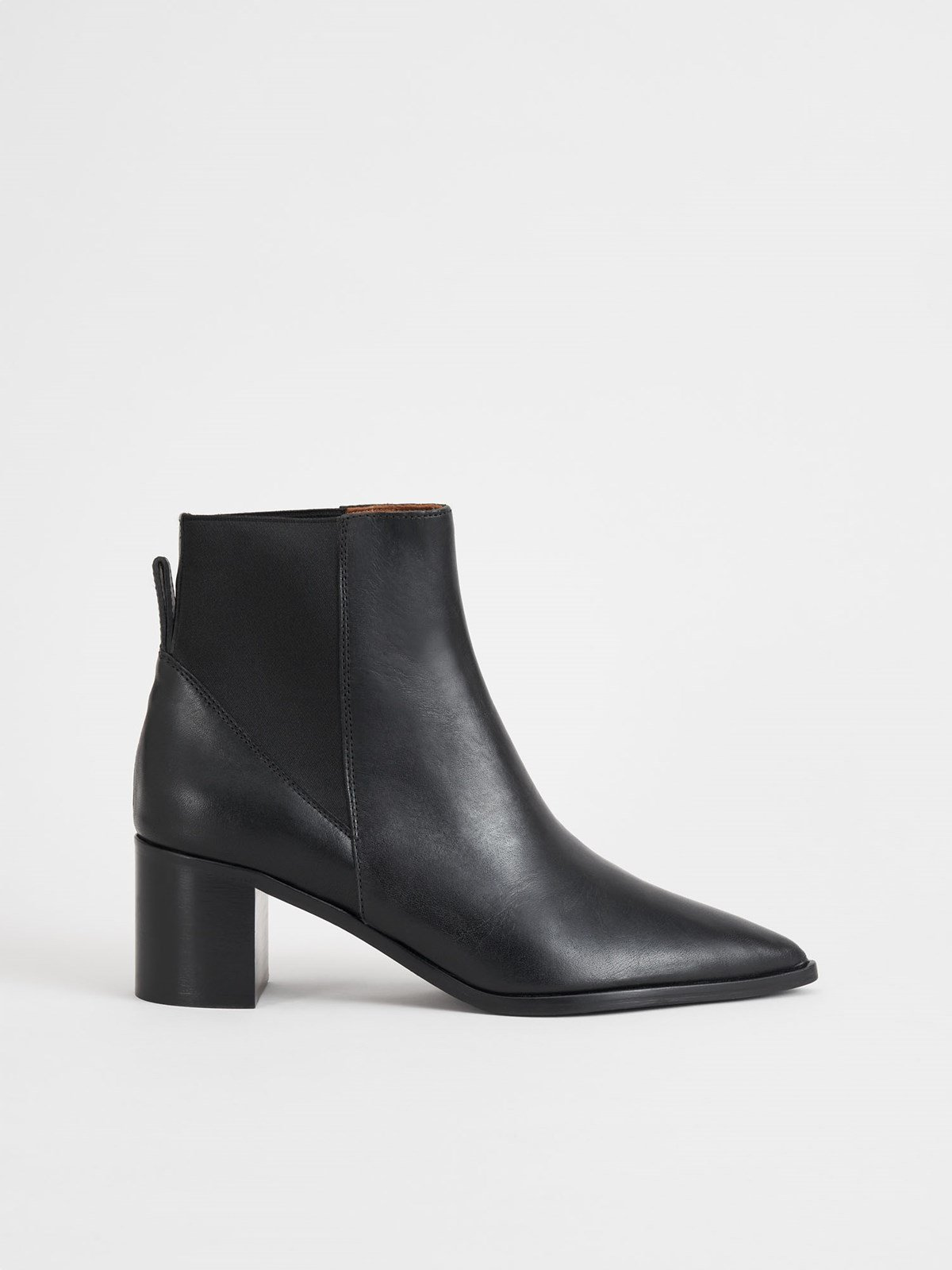 Donaci Black Ankle Boots