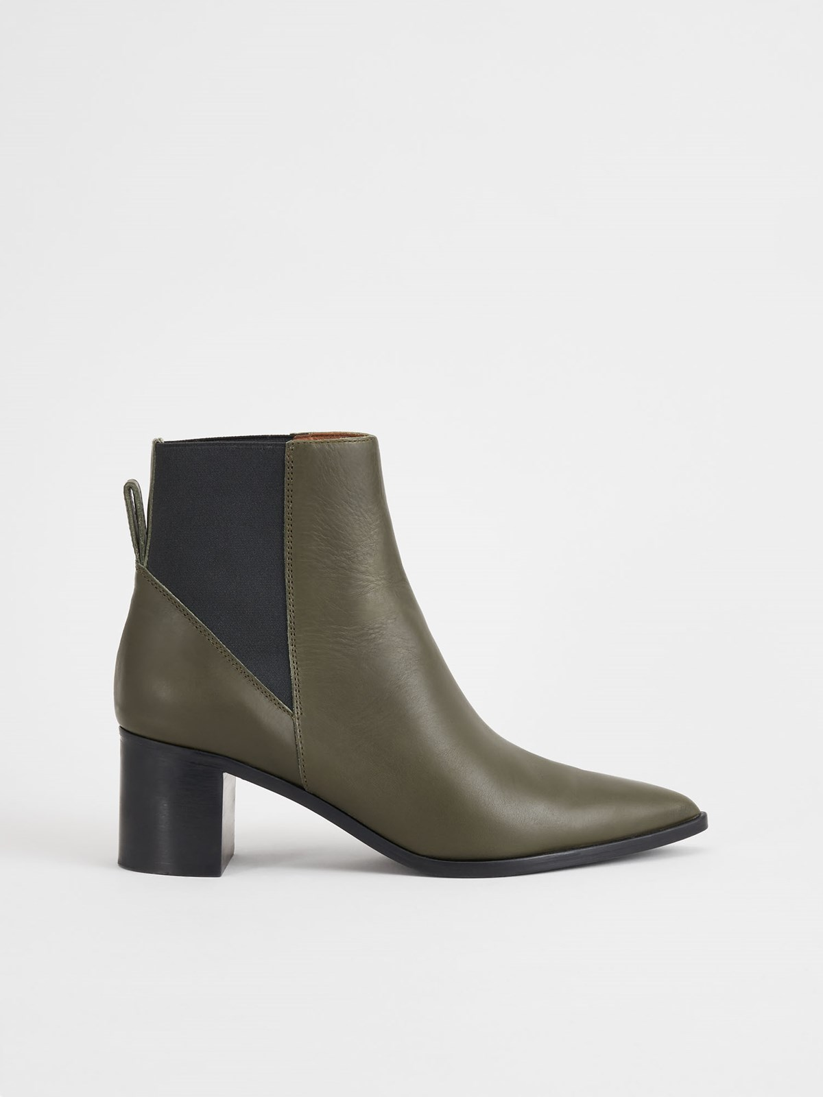 Donaci Turtle Ankle Boots