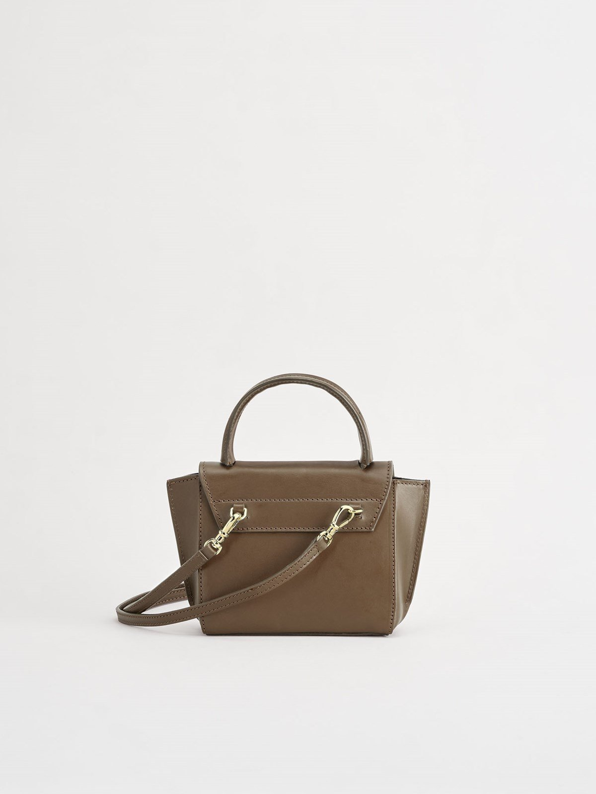 Montalcino Khaki Brown Mini handbag