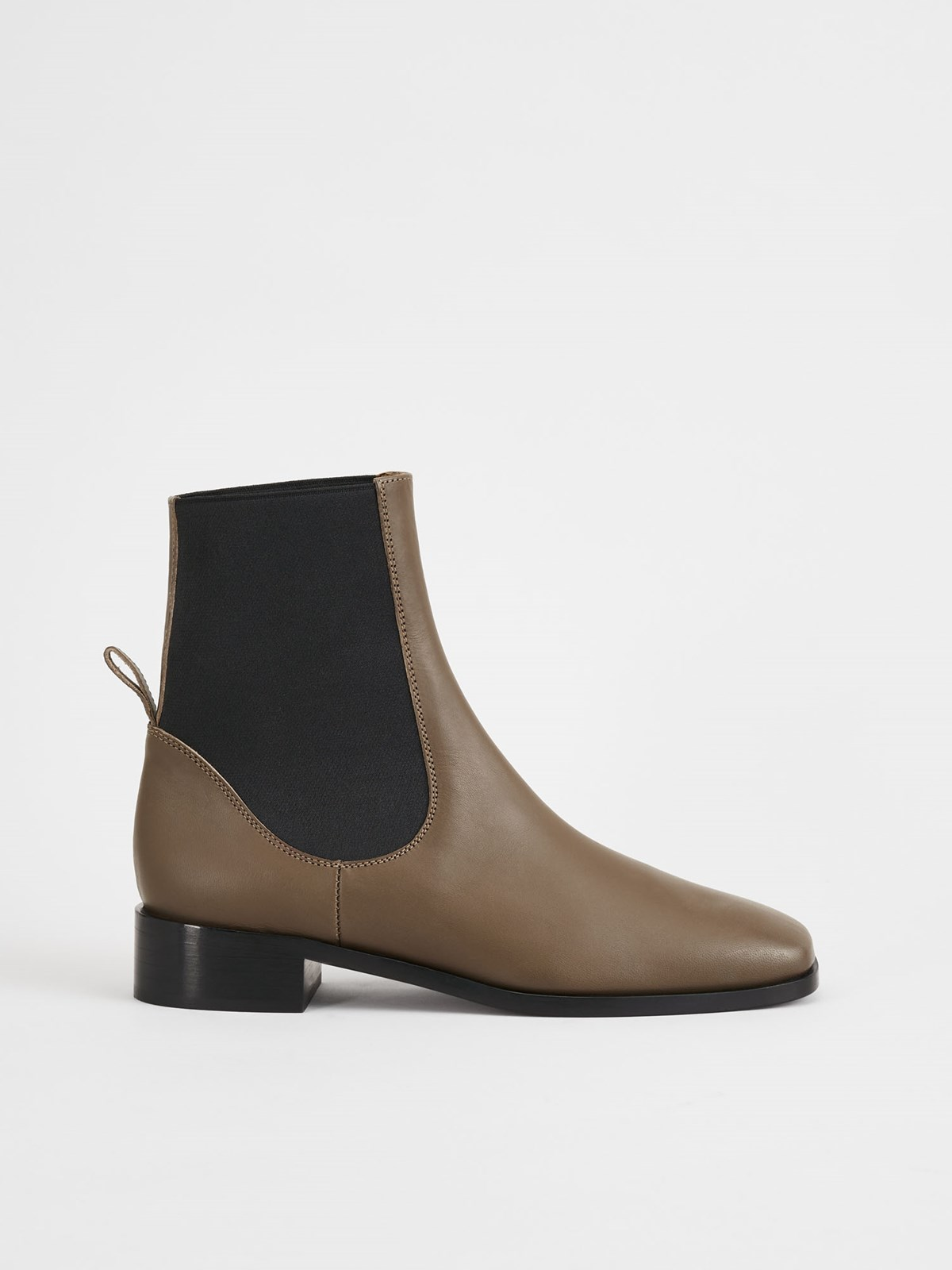 Vernazza Khaki Brown Ankle Boots