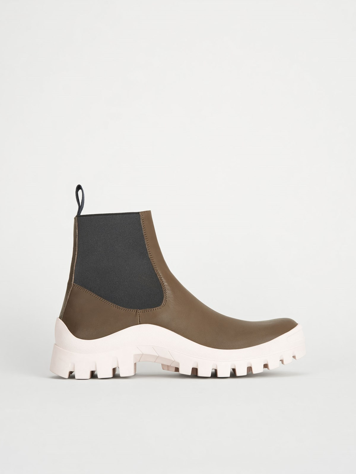 Catania Khaki Brown Chunky Boots