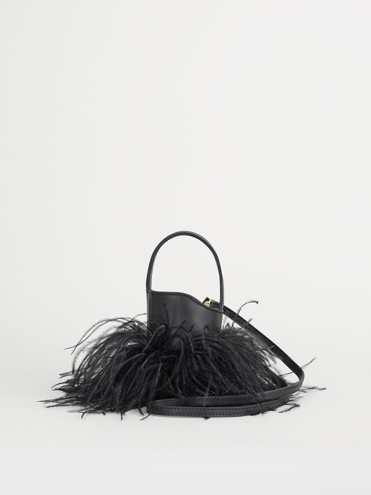 Lilliano Black Mini bucket bag