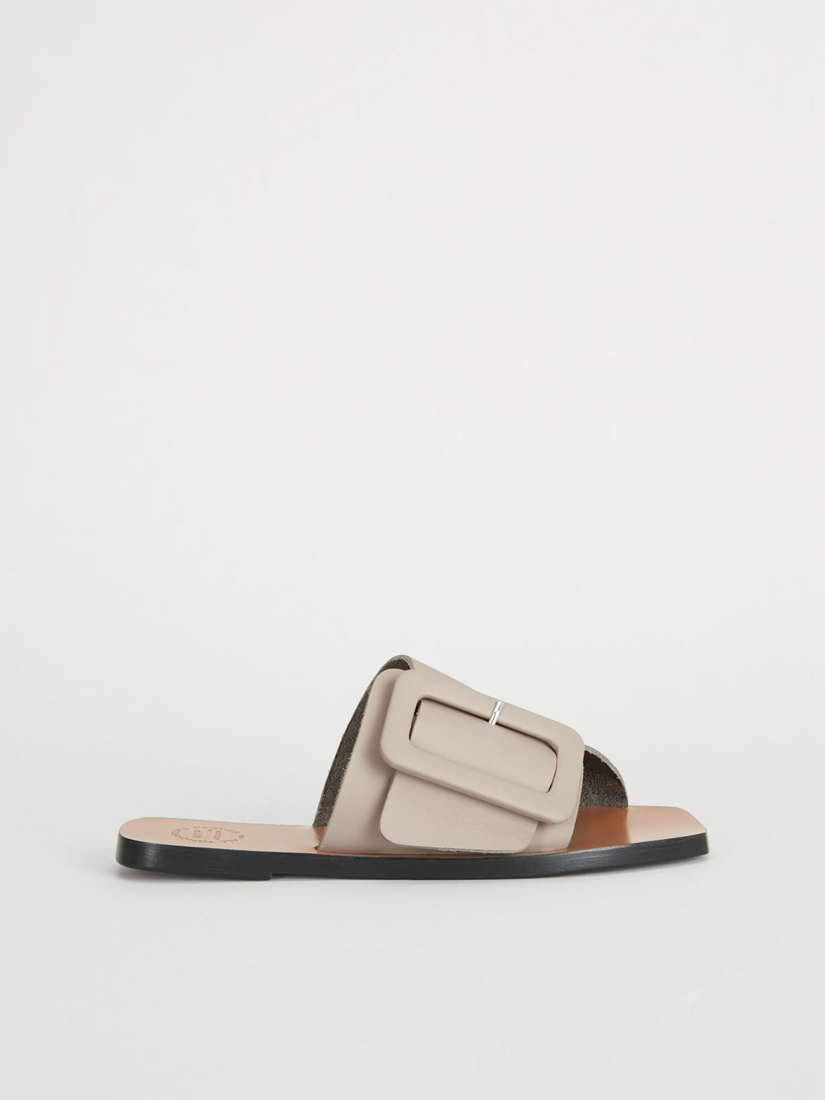 Ceci Warm grey Flat sandals