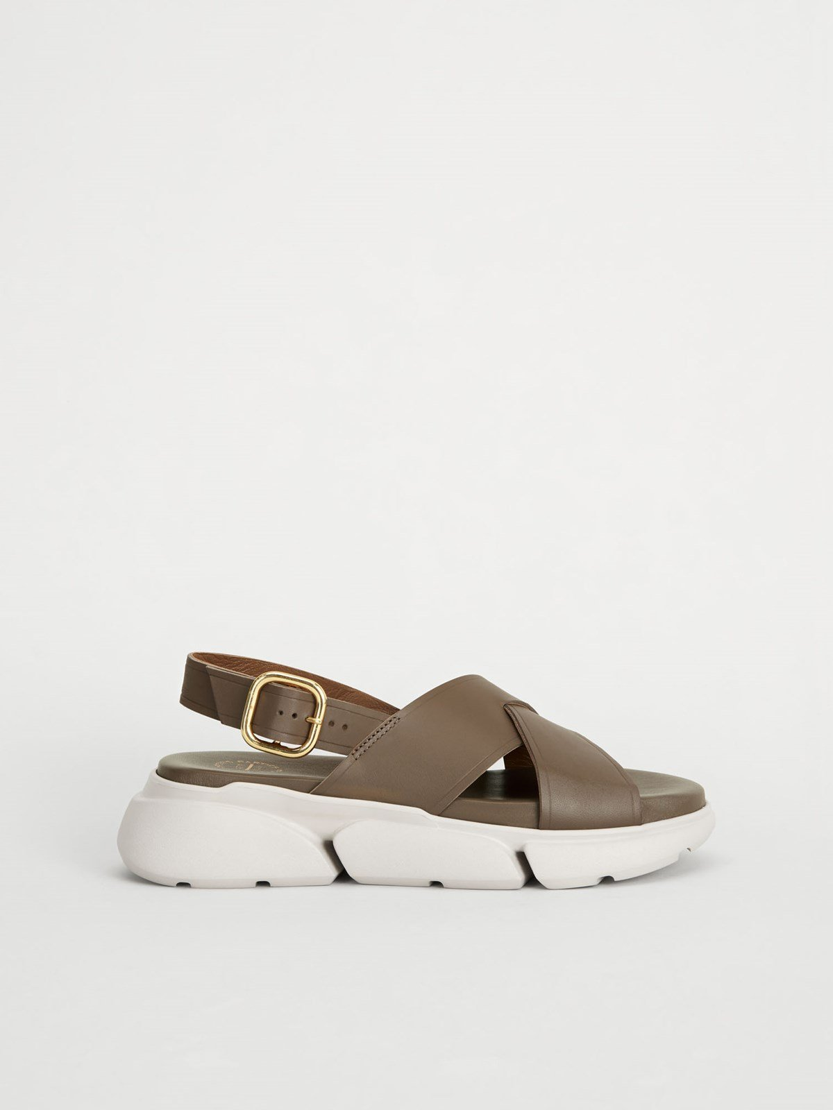 Barisci Khaki brown Chunky sandals