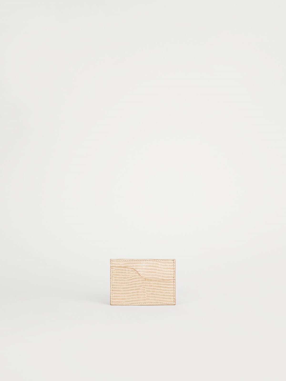 Vinci Light Beige Card Holder