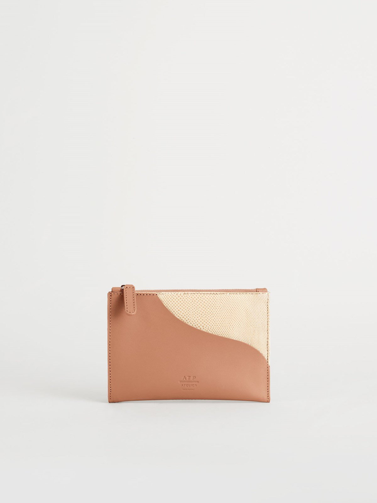 Tino Light Beige Pouch
