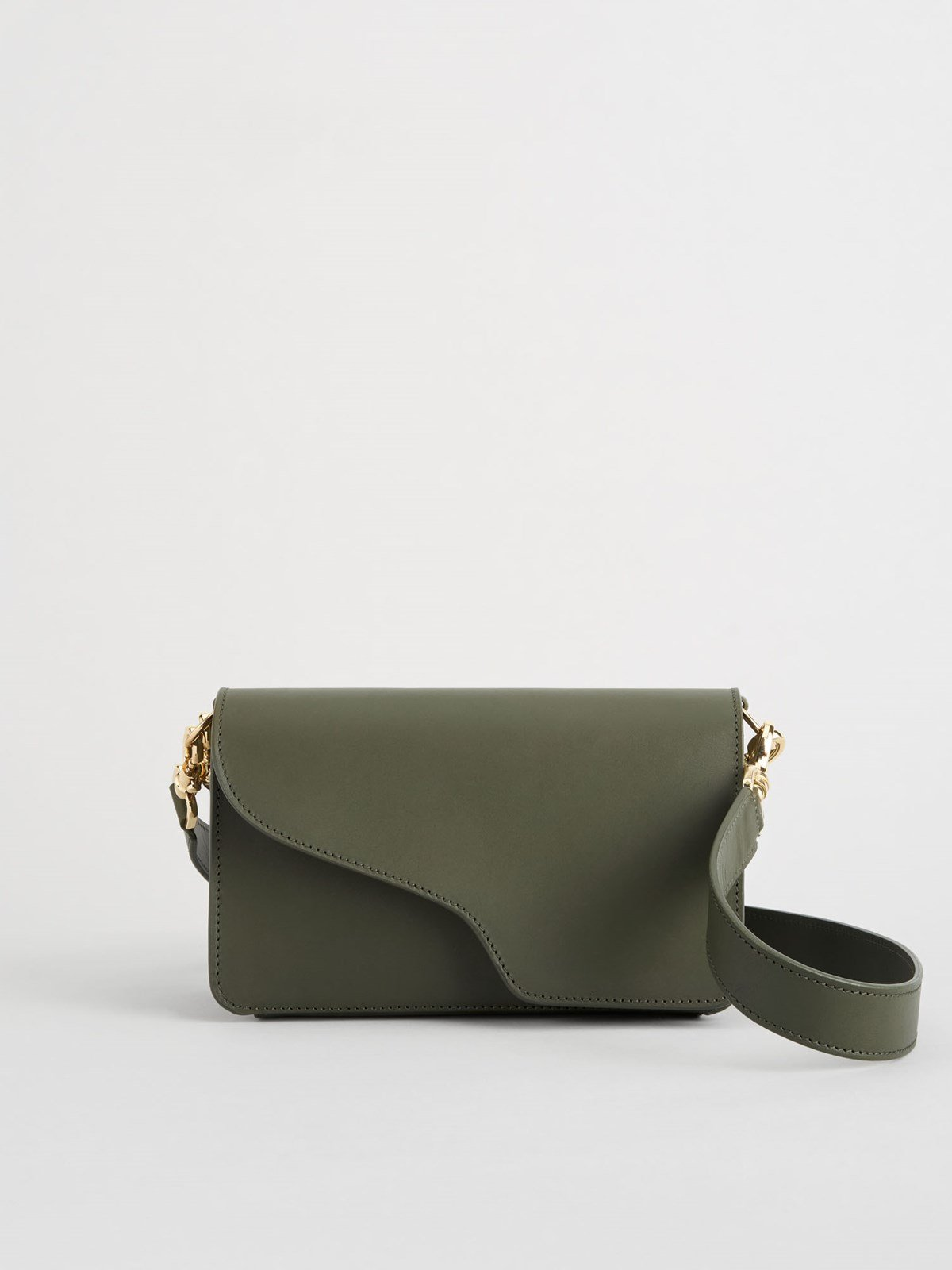 Assisi Turtle Baguette Bag