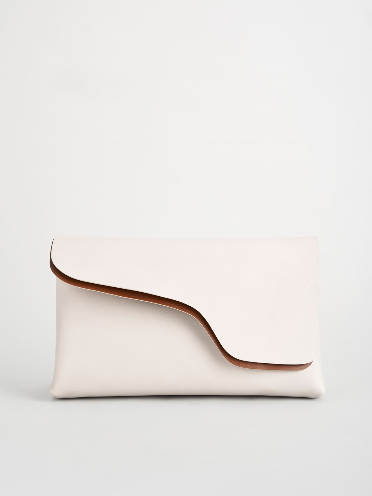 Palombaio Ice White Paper Bag