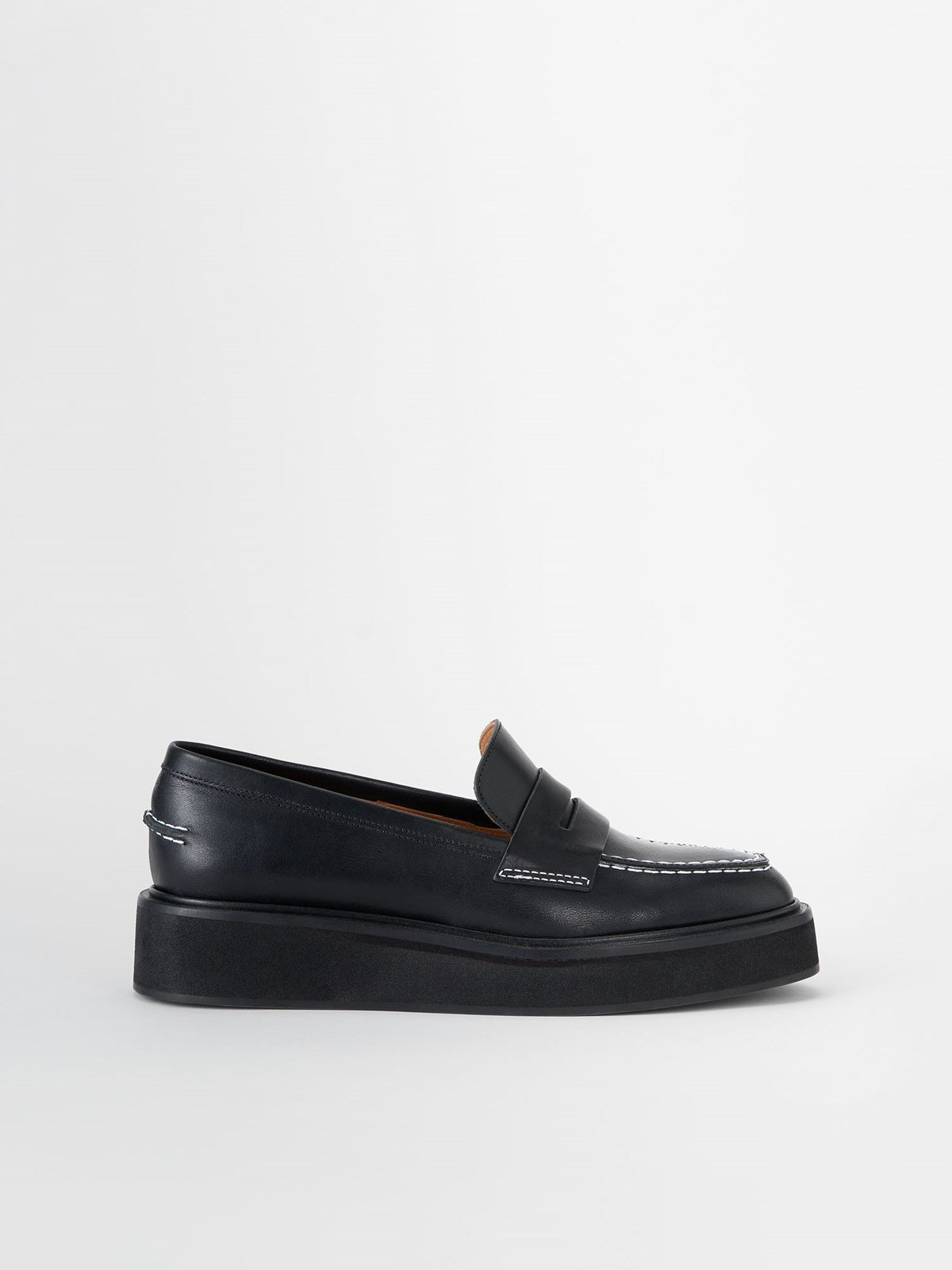 Monsano Black Chunky Loafer